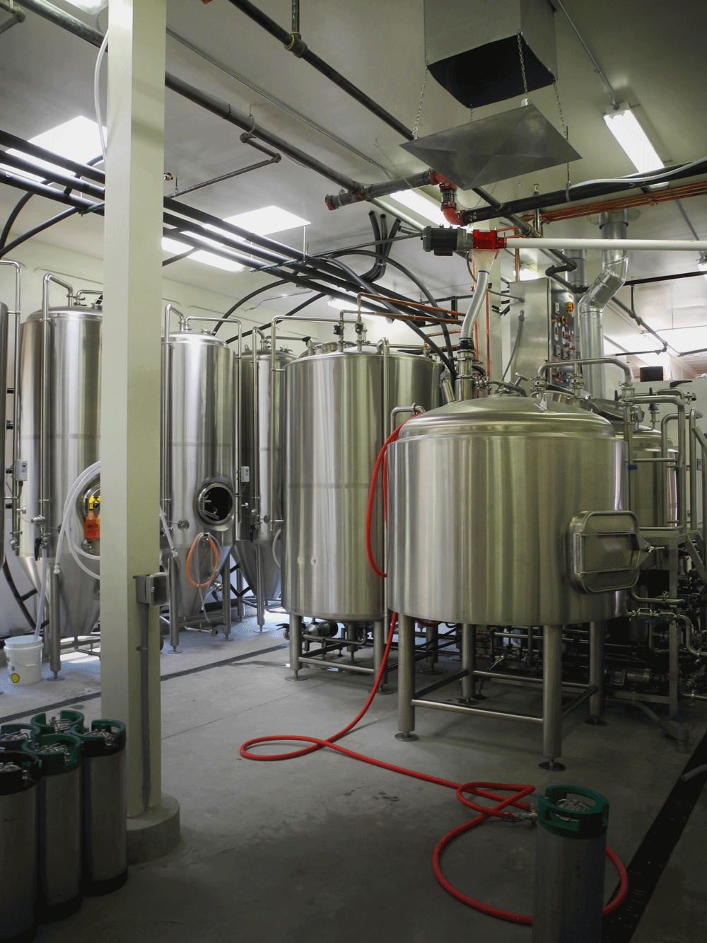 Brewery view